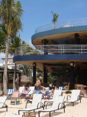 Hotel Casa Ticul: Beach Lounge Canibal Royal