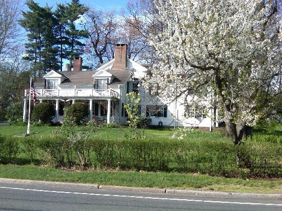 The Mansion Inn Bed and Breakfast: View from outside