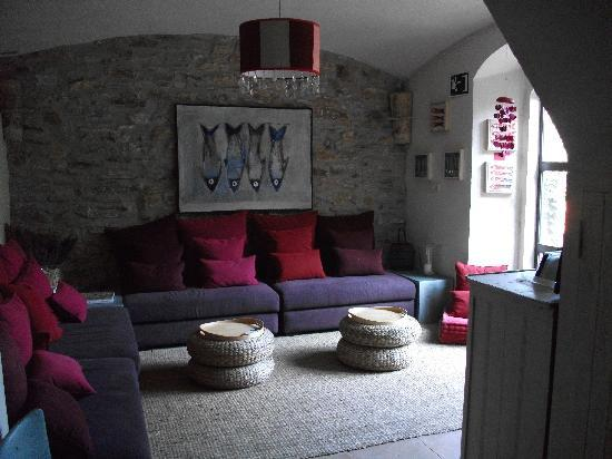 Aiguaclara Hotel: Lounge/Aufenthaltsraum