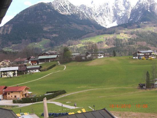 Alpenhotel Zechmeisterlehen : blick vom balkon