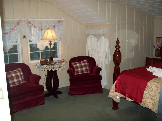 Laurel Springs Lodge B&B: seating area of the room
