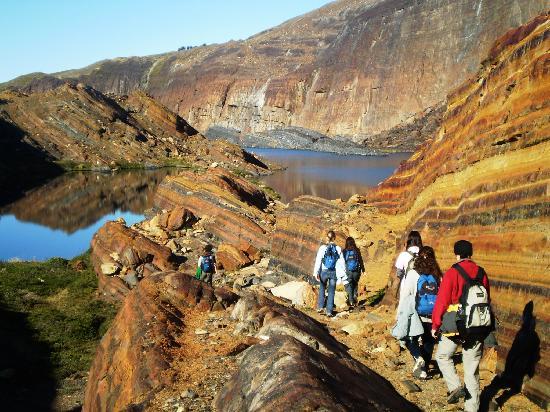 Estancia Cristina: Trekking en el Cañadon de los Fosiles