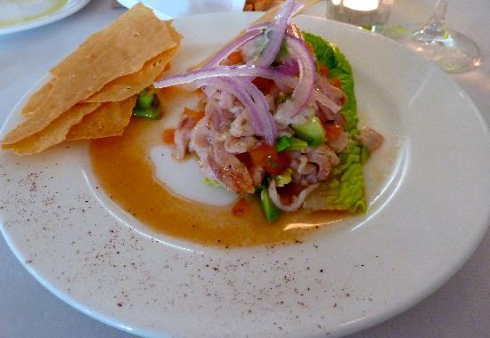 Alloro Wine Bar & Restaurant: ceviche