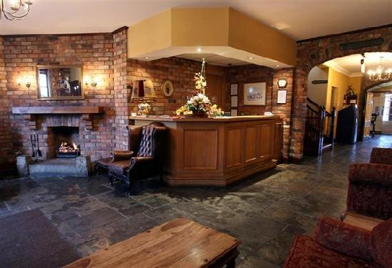 Downshire Arms Hotel: reception