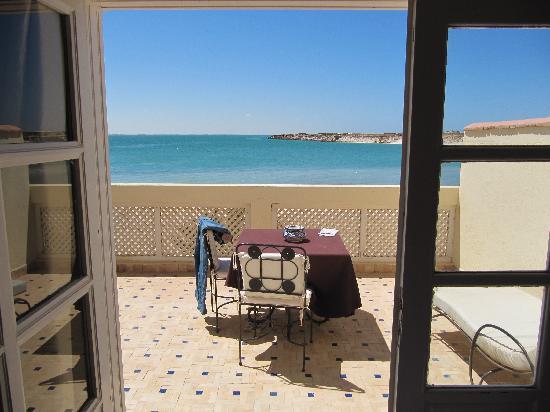 Hotel Calipau Sahara : vue de la terrasse
