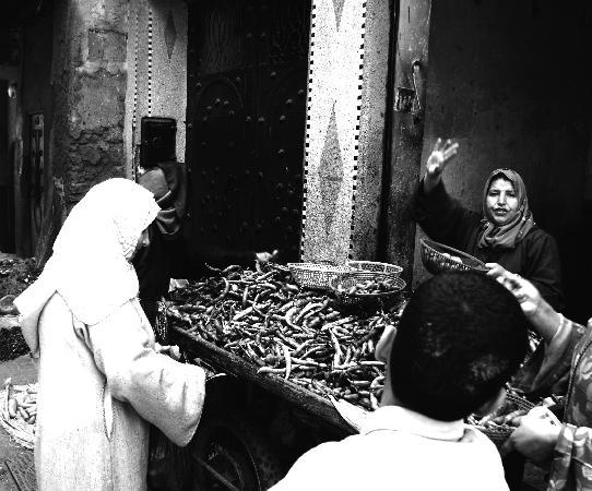 Marrakech, Morocco: market