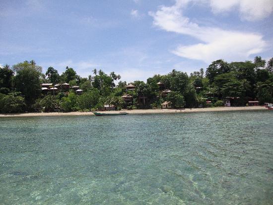 Bunaken Island Resort: Vue d'ensemble