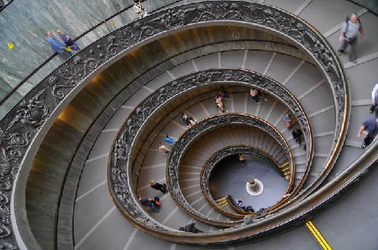 Vacanze Romane 2: Steps in Vatican