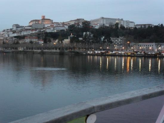 Coimbra vista da Ponte D.Pedro e D.Inês