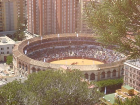Malaga, Spain: Plaza de toros de la Malagueta