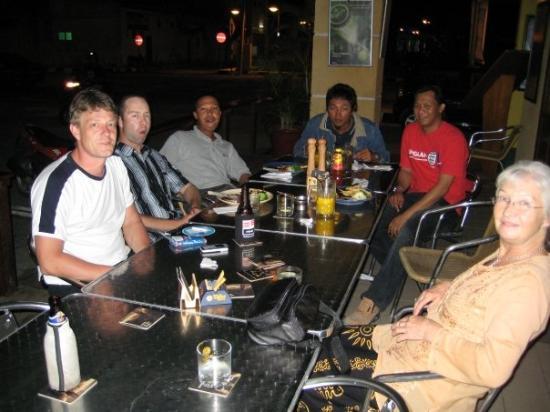 Lumut, Malaysia: Dinner time