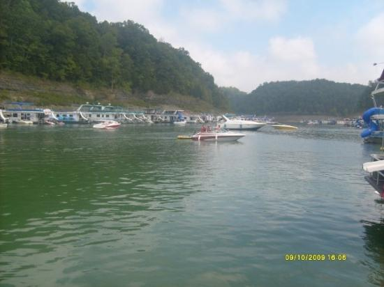 The heart of Lake Cumberland Russell County KY Picture of Lake