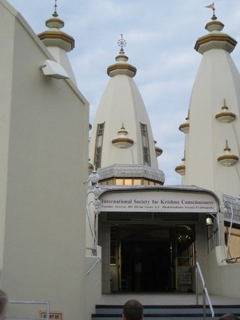 Durban, Sydafrika: The Hare Krishna temple