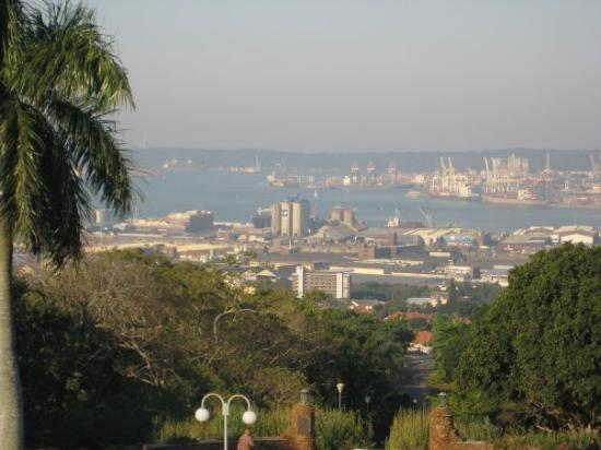 Durban, Sydafrika: View from the UKZN campus, which is clearly prime real estate