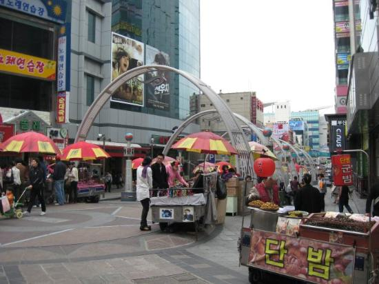 Busan, South Korea: Nampo-dong street vendors