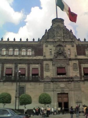 Palacio Nacional: Presidential Palace.