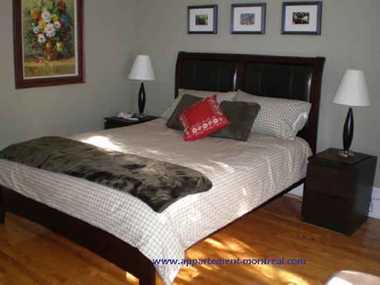 Appartement La Bonte: Chambre principale
