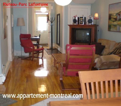Appartement La Bonte : Entrée et salon