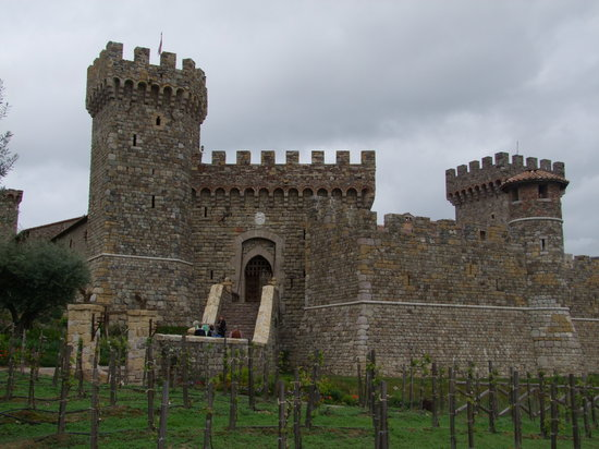 St. Helena, Californie : Castello del Amorosa