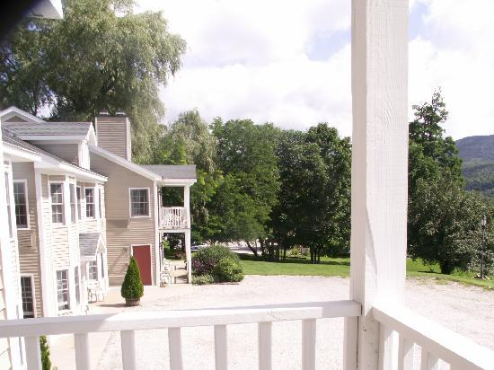 The INN at Willow Pond: Balcony view 1