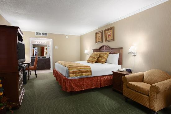 Howard Johnson Burlington: Superior King Size Room