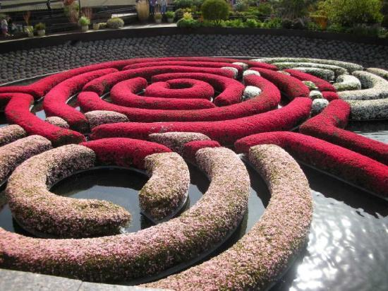 Beverly Hills, Kalifornien: Garden @ Getty Centre