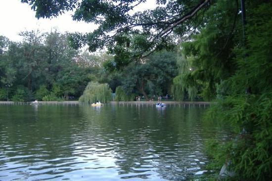 Bucarest, Rumania: Bucharest: A nice park near the historical centre
