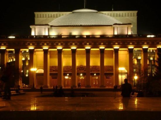 Novosibirsk State Academic Opera and Ballet Theatre Foto