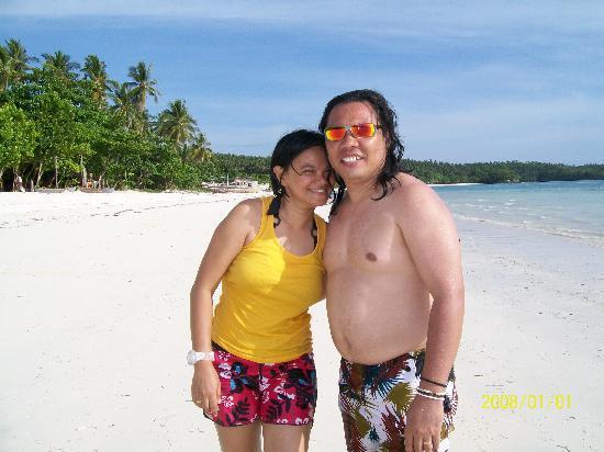 White Haven Resort: my sis on her honeymoon
