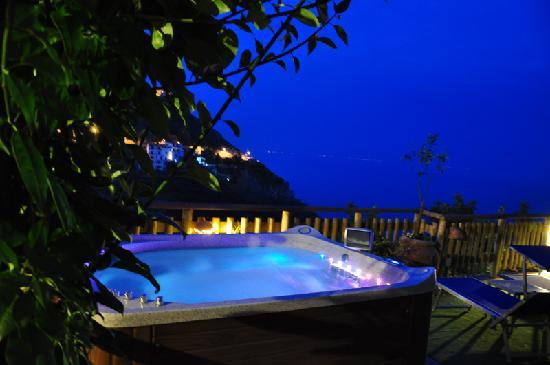 Holidays Fico d'India: Jacuzzi spa