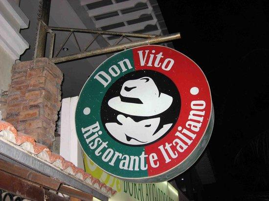Don Vito : Werbetafel