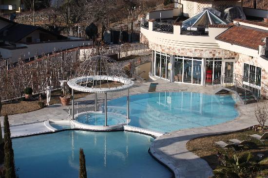 Luxury DolceVita Resort Preidlhof: piscina esterna