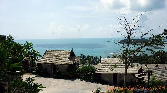 Bhundhari Spa Resort & Villas Samui: You can enjoy the seaview anywhere in the resort