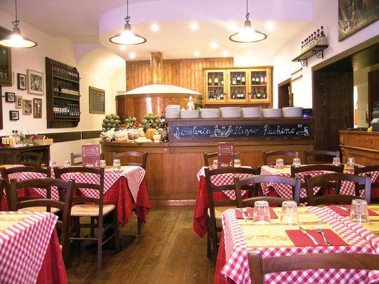 Osteria Allegro Pachino: Sala - forno pizza