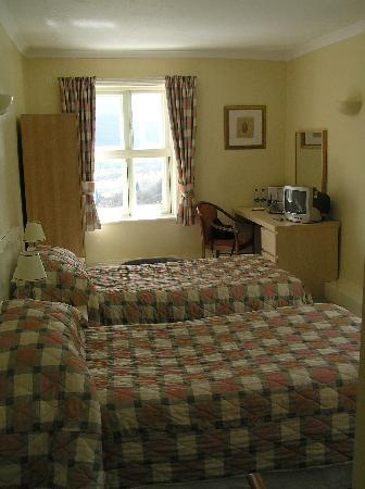 The Longmynd: Our twin room (No 7, 1st floor)