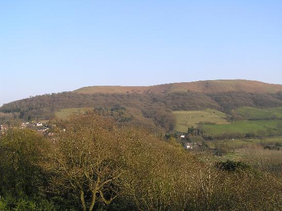 The Longmynd: View from bedroom window