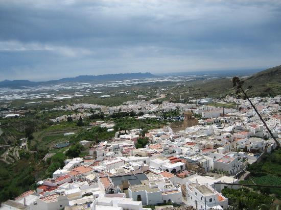 Nijar, Spanien: Vistas desde la atalaya