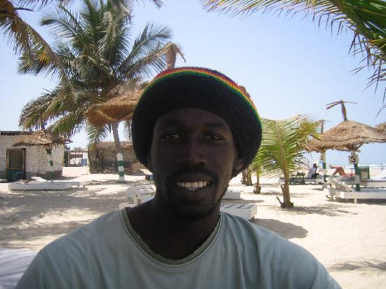 Badala Park: Omar Sheriff, the man that can on the beach