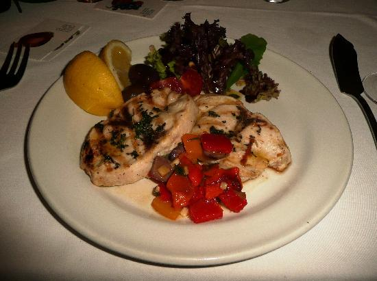 The Carriage: Main of grilled swordfish