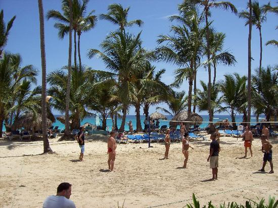 Punta Cana, República Dominicana: Volleyball at Grand Paradise
