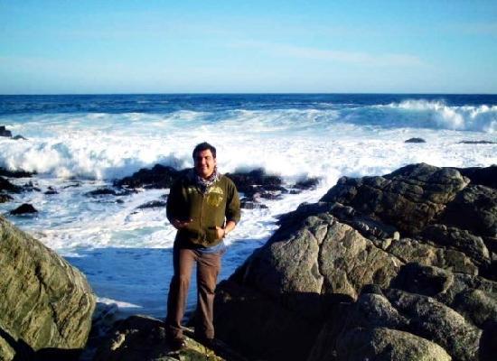 Isla Negra, Чили: rocas