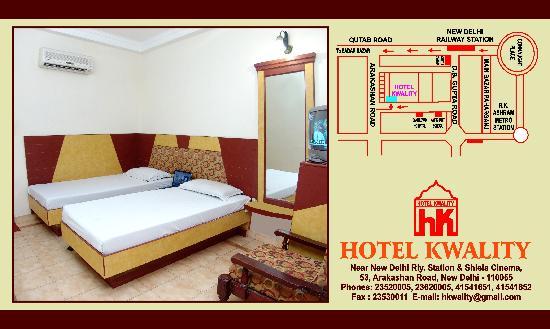 Hotel Kwality: room