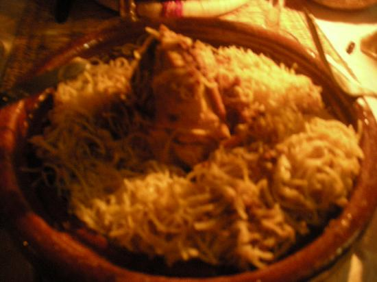 Ryad Jana: un piatto di Seffa Jama