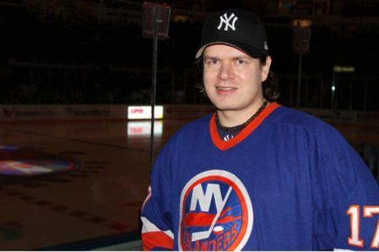 Nassau Veterans Memorial Coliseum : NY Long Island 30.3.2010 Nassau Coliseum  New York Islanders - New York Rangers (3-4)