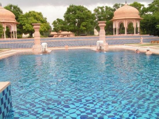 Jaipur, India: A piscina