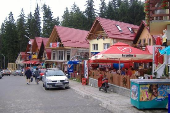 Mountains trip: Village near Sinaia