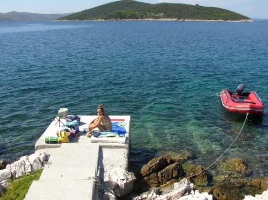 Dugi Rat, Croácia: Dugi Otok, Croacia