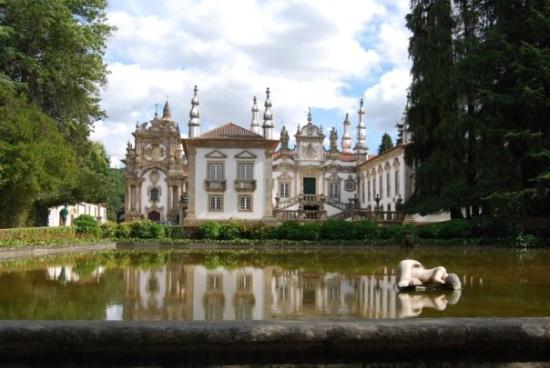 Vila Real, Portugal: Palacio de Mateus