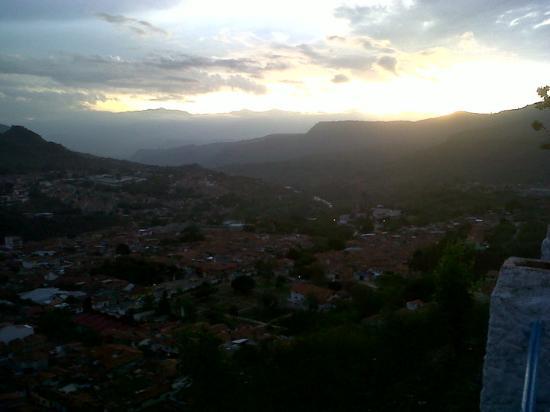 Vista Panorámica de San Gil