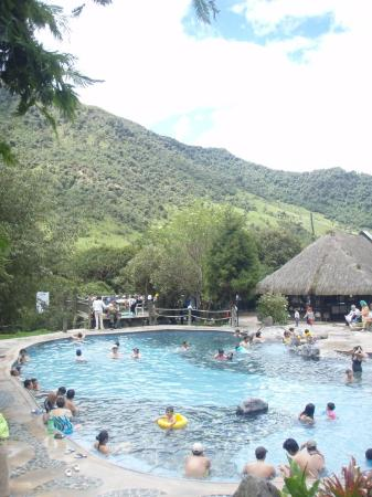 Papallacta, Ekwador: Papyllacta thermal Springs